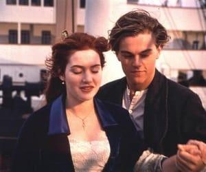 titanic, leonardo dicaprio, and love image