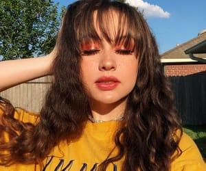 girl, haley morales, and makeup image