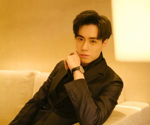 chinese boy and hu yi tian image