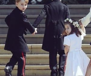 royal wedding, princess charlotte, and prince george image
