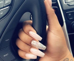 ballerina, nails, and Nude image