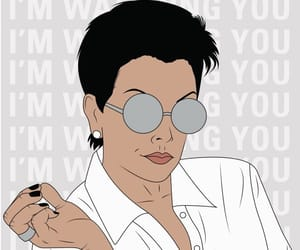 wallpaper, kris jenner, and background image