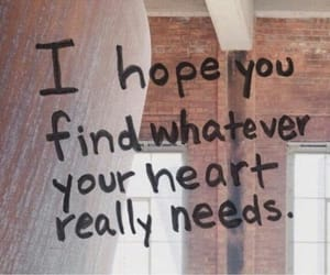 heart, quotes, and hope image