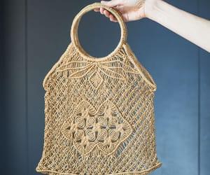 etsy, market bag, and handmade bag image