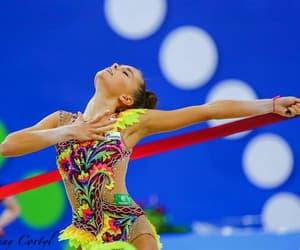 ribbon, rhythmic gymnastics, and dina averina image