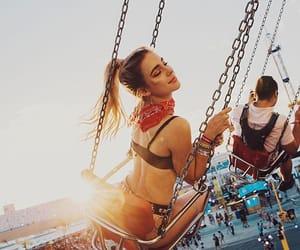 beauty, girl, and life image