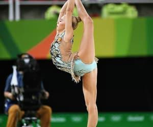ball, olympic games, and rhythmic gymnastics image