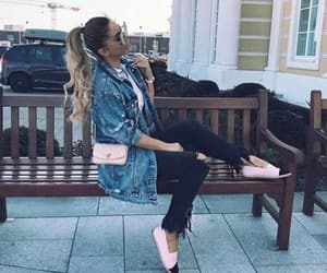 blogger, denim, and outfit image