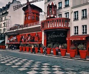 paris, travel, and moulinrouge image