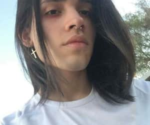 handsome, long hair, and boy with long hair image