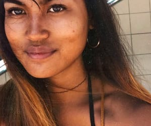 asian, beautiful, and brown image