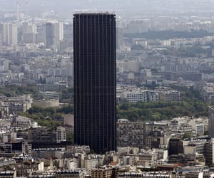 france, paris, and montparnasse tower image
