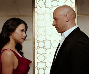 Vin Diesel, michelle rodriguez, and fast and furious image