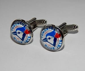 etsy, sports team, and sports cufflinks image