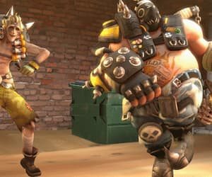 overwatch, gif, and roadhog image