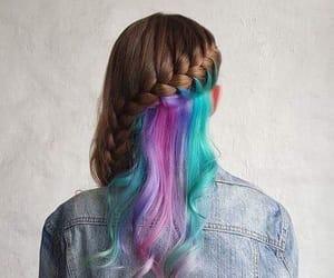 colores, idea, and peinado image