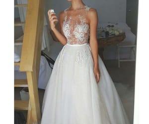 diamond, dress, and model image