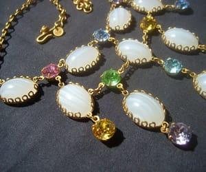 bridal jewelry, etsy, and bib necklace image