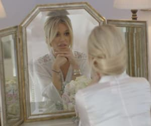 blonde, fashion, and wedding image