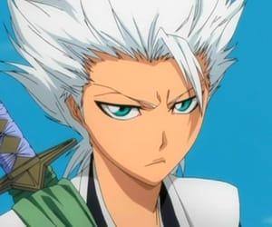 bleach, anime, and hitsugaya toshiro image