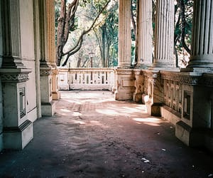 vintage, architecture, and nature image