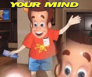 cartoon, creepy, and cursed image