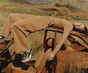 brown, car, and fashion image