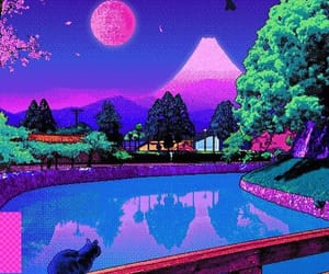 pixel, vaporwave, and aesthetic image