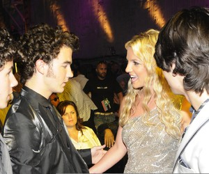 britney spears and jonas brothers image