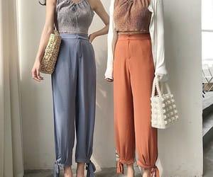blue, korean fashion, and pastel image