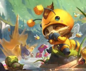 gaming, mushroom, and teemo image