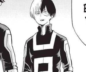 boku no hero academia, todoroki, and shouto image
