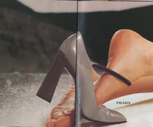 Prada, theme, and shoes image