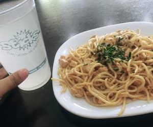 comida, food, and lemonwater image