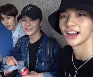 hyunjin, stray kids, and jeongin image