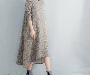etsy, vintage dress, and cotton dress image