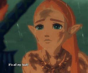 cry, gif, and princess image