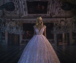 dress, bride, and princess image