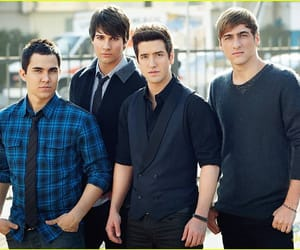 big time rush, james maslow, and logan henderson image