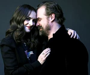 winona ryder, david harbour, and stranger things image