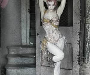 burlesque, morning, and corset image