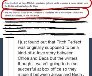 pitch perfect, beca mitchell, and bechloe image