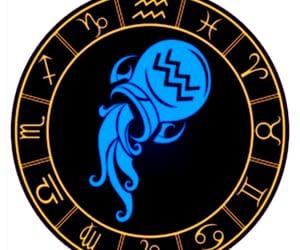 aquarius, zodiac sign, and astrology image