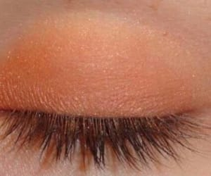 aesthetic, eyeshadow, and orange image
