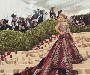 blake lively, elegance, and red image