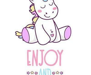background, pink, and unicorn image