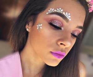 eyebrows, eyelashes, and highlight image