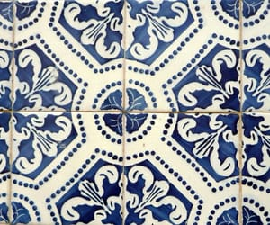 blue and tile image