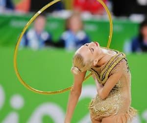 hoop, olympics, and rhythmic gymnastics image