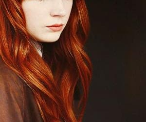 girl, redhead, and karen gillan image